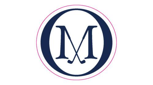 """Old Macdonald Golf Club Logo Decal - 2"""" Circle"""