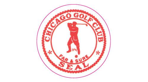 "Chicago Golf Club Logo Decal - 2"" Circle"