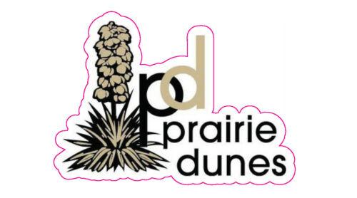 """Prairie Dune Golf Club Logo Decal - 3"""" x 2.25"""""""