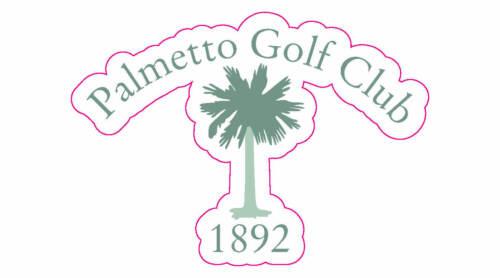 """Palmetto Golf Club Logo Decal - 2.25"""" x 3"""""""