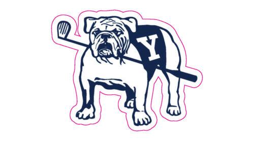 """Yale Golf Club Logo Decal - 2.5"""" x 2"""""""