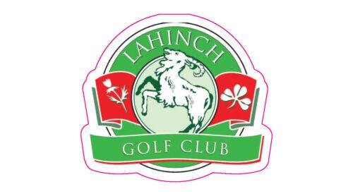 """Lahinch Golf Club Logo Decal - 2"""" x 2"""""""