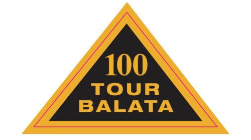 "Tour Balata 100 Logo Decal - 1.75"" x 3"""