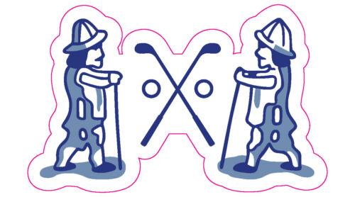 "National Golf Links Logo Decal - 2.25"" x 3.75"""