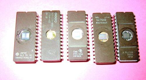ID2764 EPROM, 5 pieces, Intel type  2764