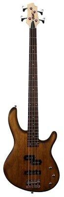 Cort Action PJ Electric Bass guitar Walnut