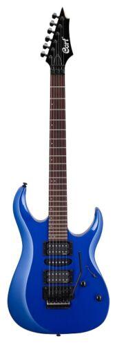 Cort X250KB Electric Guitar, Meranti Body, EMG Pickups, Kona Blue Finish, NEW !!