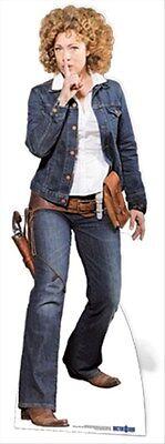 River Song Utah Alex Kingston Dr Who Companion Lifesize Cardboard Cutout Figure