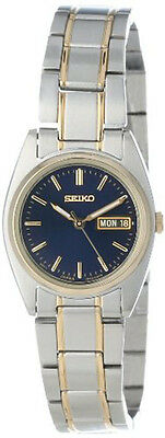 Seiko Women's Functional Japanese Qaurtz Two-Tone Stainless Steel Watch SXA120