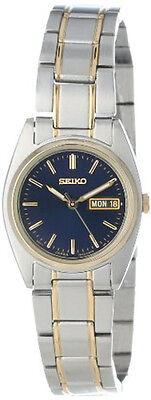 Seiko Women's Functional Japanese Qaurtz Two-Tone Stainless Steel Watch SXA120