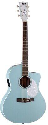 Cort Jade JADECLASSICSKOP  Classic Acoustic Electric Guitar- Sky Blue 50's style