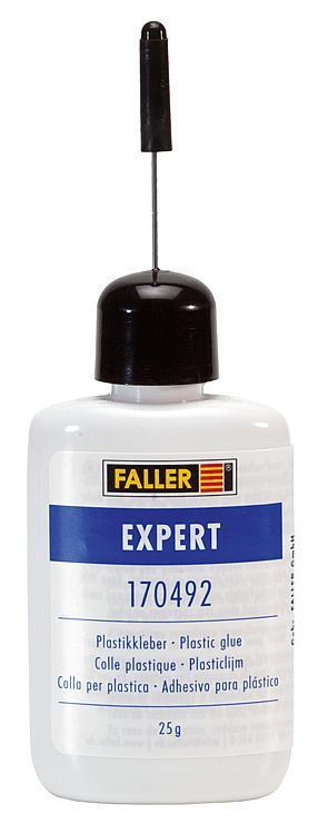FALLER ALL SCALE EXPERT PLASTIC GLUE (25G BOTTLE) | SHIPS FROM USA | 170492