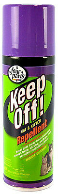 FOUR PAWS KEEP OFF INDOOR OUTDOOR CAT SPRAY 6 OZ REPELLENT FREE SHIP THE USA