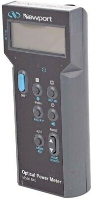 Newport 840-c Industrial Handheld Digital Lcd Peak-to-peak Optical Power Meter
