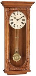 Hermle 70732-I92214 Timberlake Flat top regulator style wall clock