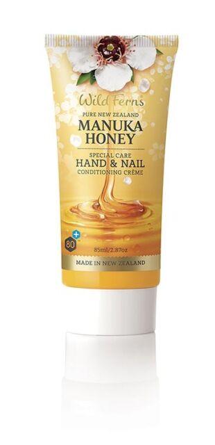 New Wild Ferns Manuka Honey Special Care Hand and Nail Creme 85ml Hand Cream
