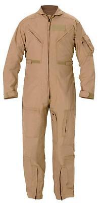 Firefighting Smoke Wildfire Jumper Nomex Flight Suit Cwu-27p Size 44s New