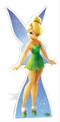 Tinkerbell from Peter Pan Official Disney Cardboard Fun Cutout - For your - Tinkerbell Cutouts
