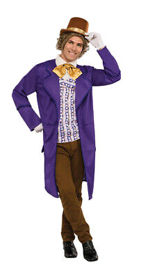 Adult Willy Wonka Costume (Adult Deluxe Willy Wonka Costume -)