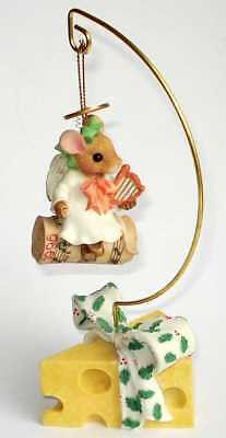 PRISCILLA HILLMANN MOUSE TALES - Angels We Have Heard On High - Enesco 178780