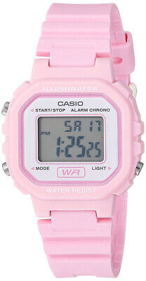 Casio Women's Classic Digital Quartz Resin Pink Watch LA-20WH-4A1CF