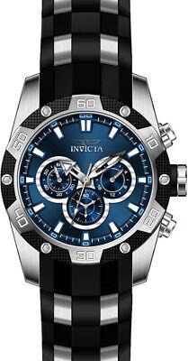 Invicta Men's Speedway Chrono 100m Stainless Steel Polyurethane Watch 25833