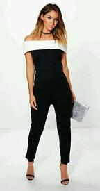 Ladies off shoulder jumpsuit size 10 BNWT