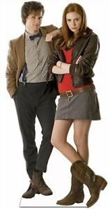 DR-DOCTOR-WHO-MATT-SMITH-AMY-POND-KAREN-GILLAN-CUTOUT-STANDEE-STANDUP-PROP