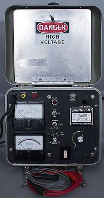 Biddlemulti-ampmeggermulti-volt Mg-2525a Megohmmeter 2.5 Kv Dc 50k Megohms