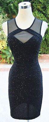 City Triangles Black Homecoming Party Dress 7    60 Nwt