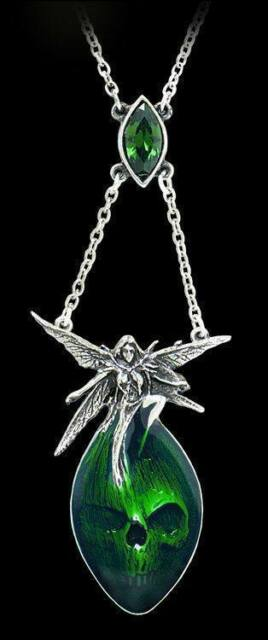 Absinthe Fairy - Alchemy Gothic Necklace Jewellery