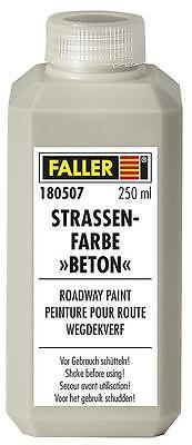 Faller Car System ref.180507 Pintura color cemento Strassen Farbe 250 ml