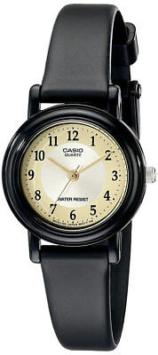 CASIO WOMEN'S BLACK CASUAL CLASSIC ANALOG WATCH LQ139A