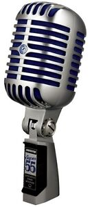 Shure Super 55 Deluxe Vocal Microphone, SUPER55, Brand New in Box