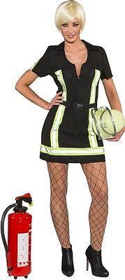 Sexy Feuerwehr Lady Damenkostüm NEU - Damen Karneval Fasching Verkleidung - Sexy Feuerwehr Kostüm