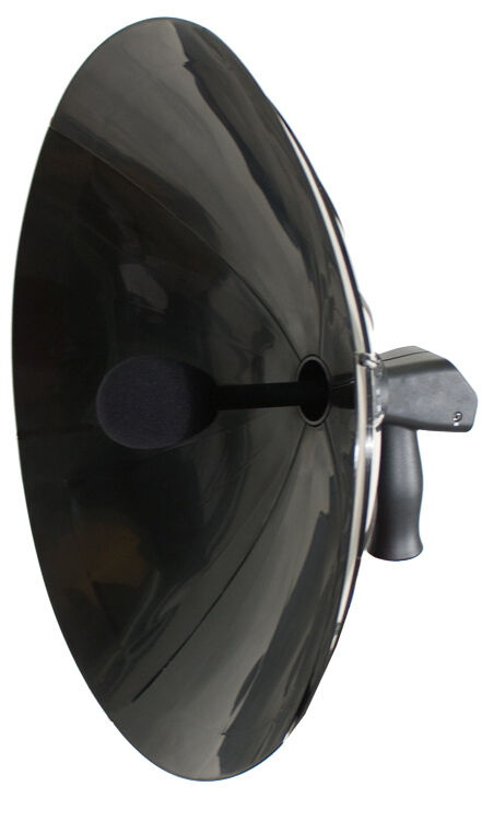 KJB Det Ear Detect Ear Amplified Parabolic Dish Microphone Hearing Listening Kit