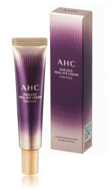 AHC Ageless Real Eye Cream for face Season 7 12ml whitening
