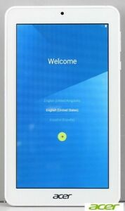 Acer Iconia One 7 16GB Android Tablet - Like New