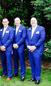 Suits Bright Blue from Moss Bross