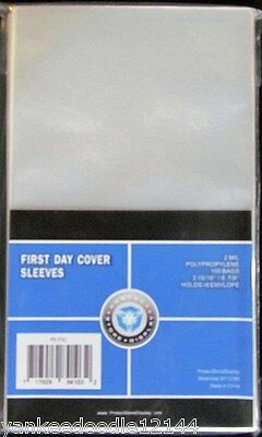 "1000 New PSD First Day Cover Sleeves 3 15/16""x6 7/8"" #6 Env"