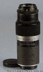 Leica 135mm Hektor F4.5 Black Paint SM Lens w/ Caps [23015]