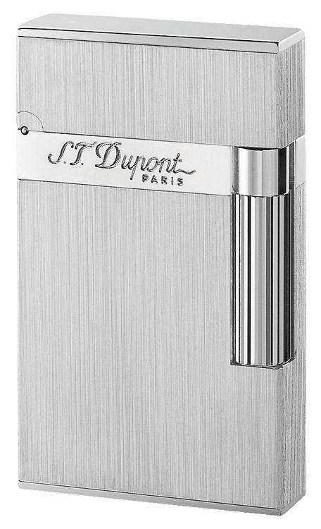 S.T. Dupont Ligne 2, Palladium Brushed Finishes, 16404 (ST016404), New In Box
