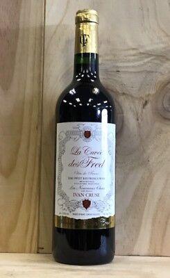 La Cuvee des Fred Semi Gracious Red Wine 750 ML