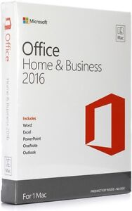 2016 Microsoft Office for Mac Professional - Licensed