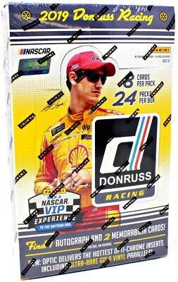2019 Panini Donruss NASCAR Racing Hobby Box - 3 Auto or Mem Per Box!