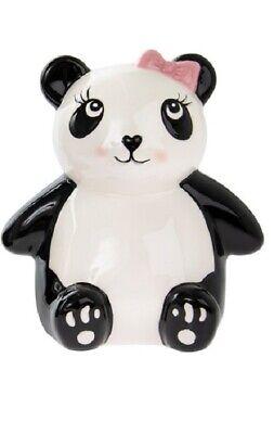 Cerámica Panda Caja de Dinero - Niña y Niño Diseño - Ahorros Caja - Hucha
