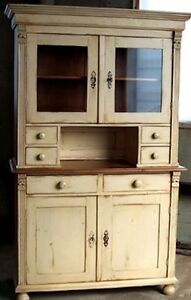 Hutches, dressers, any cabinets / refinishing