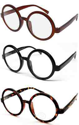 Harry Potter Nerd Bookworm Round Eye Glasses Halloween Dress Up - Nerd Clothes