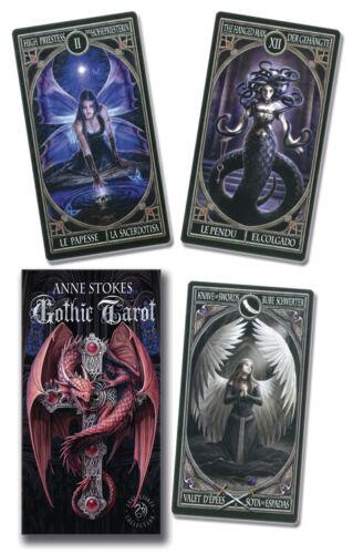 Anne Stokes Gothic Tarot Deck Fournier New Sealed