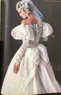 Vintage Demetrios Custom Wedding Dress